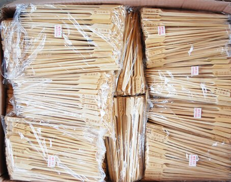 Bamboo Paddle Skewers Manufacturer