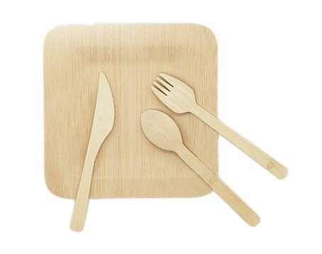 Bamboo Cutlery Wholesale Bulk Bamboo Flatware Utensils