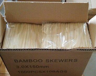 bulk packing skewers