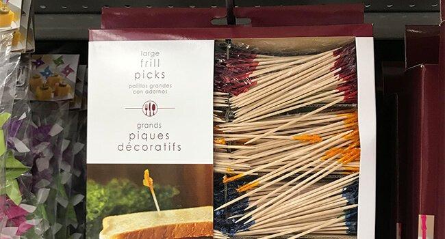 Frilly Toothpicks manufacturer 4