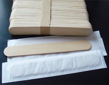 Paper Wrapped Waxing Spatula Wholesale