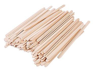 Round Edge Wooden Stirrers Wholesale