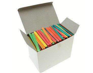 colorful ice cream sticks
