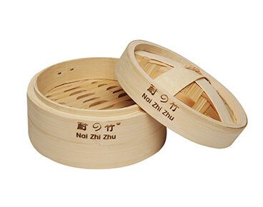Bamboo Steamer With Laser Logo Wholesale