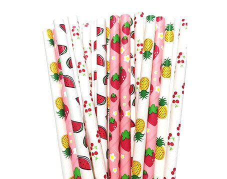 Fruit Paper Straws Manufacturer