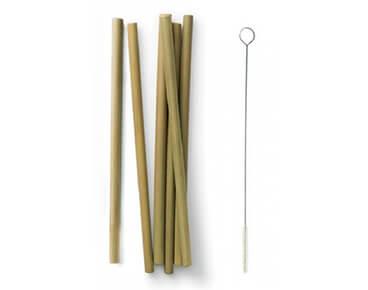 Green Bamboo Straws Wholesale