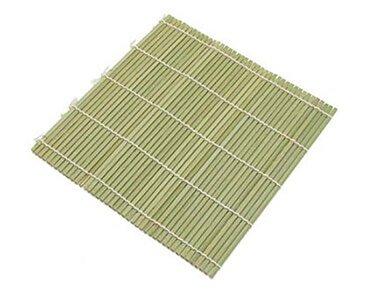 Green Color Bamboo Sushi Mat Wholesale