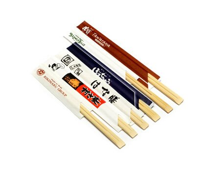 Half Paper Wrapped Bamboo Chopsticks Manufacturer