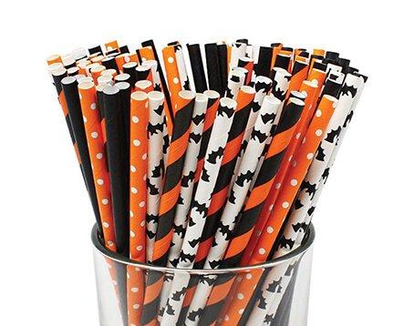 Halloween Paper Straws Manufacturer