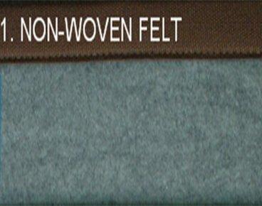 Non-Woven Felt Bamboo Carpet Manufacturer