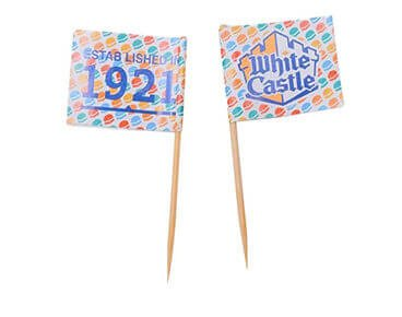 Custom Advertising Toothpick Flags