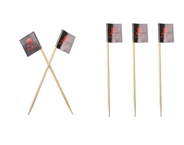 Custom Branded Toothpick Flags