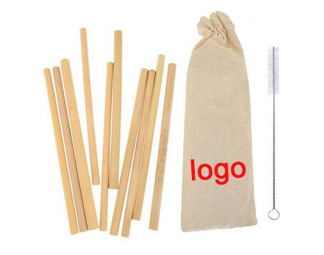 cloth bag packed bamboo straws manufacturer