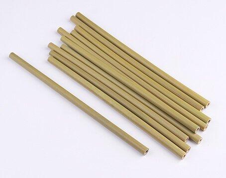 green bamboo straws manufacturer
